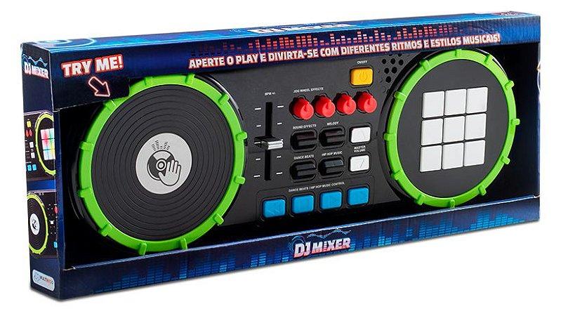 Dj Mixer Painel de LED Multikids - BR1175