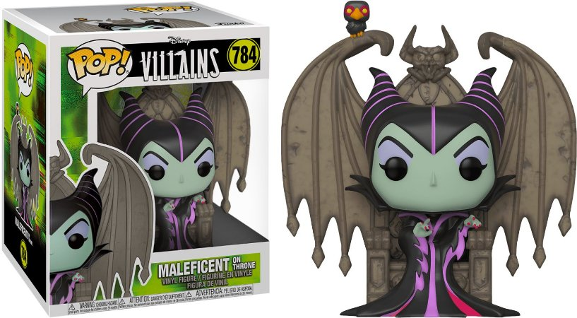Funko Pop Disney Maleficent *Deluxe* Maleficent W/Throne 784