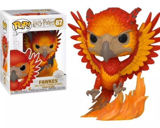 Funko Pop Harry Potter 6 Fawkes 87