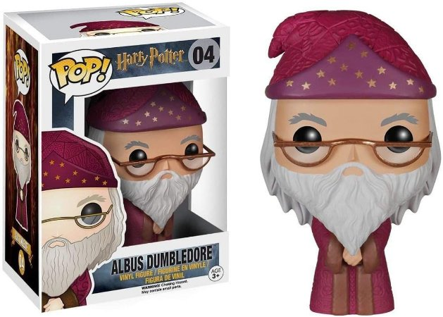 Funko Pop Harry Potter Albus Dunbledore 04