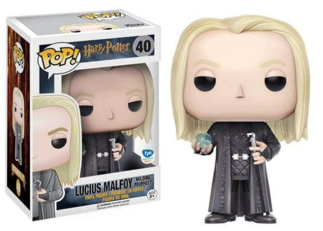 Funko Pop Harry Potter Lucius Malfoy Holding Prophecy *EX* 40