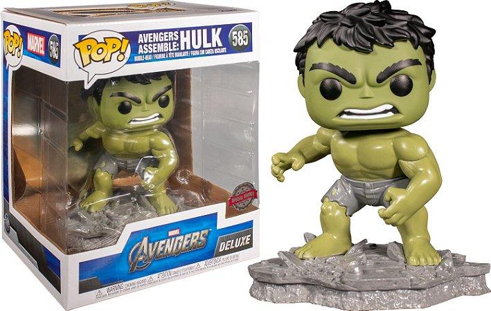 Funko Pop Marvel Avengers *DELUXE* Hulk *EX* 585