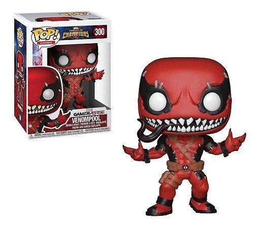 3funko Pop Marvel Champions Venompool 300