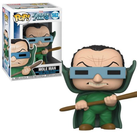 Funko Pop Marvel Fantastic Four 4 Mole Man 562