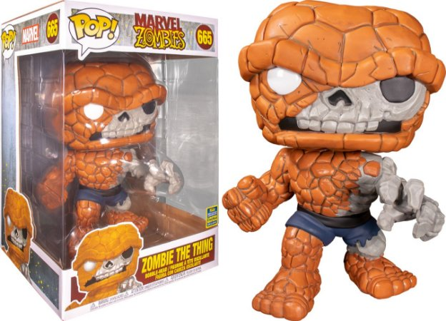 Funko Pop Marvel Zombies The Thing Zombie *SDCC 2020* 665