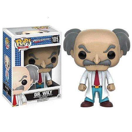 Funko Pop Megaman Mega Dr.Willy 105