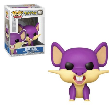 Funko Pop Pokemon S3 Rattata 595
