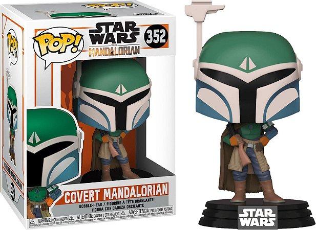 Funko Pop Star Wars Mandalorian Covert Mandalorian 352