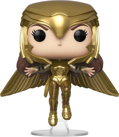 Funko Pop Wonder Woman 1984 Wonder Woman Golden Armor Flying 324