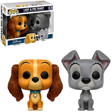 Funko Pop! Disney: Lady & The Tramp - Lady & The Tramp 2 Pack
