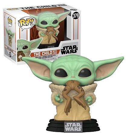 Funko Pop! Star Wars: The Mandalorian - The Child w/ Frog (Baby Yoda) 379