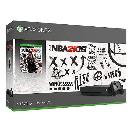 Xbox One X 1TB Console - NBA 2K19 Bundle