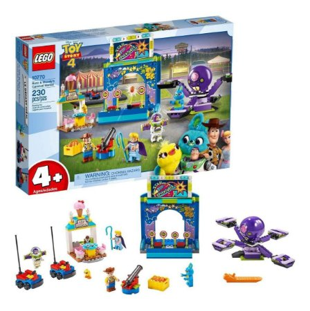 Lego Toy Story - Carnaval do Woody e Buzz
