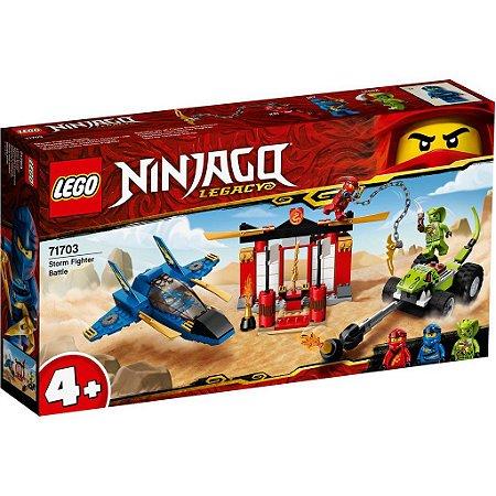 Lego Ninjago - Batalha Lutador da Tempestade
