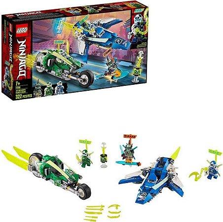 Lego Ninjago - Veículos De Corrida Jay e Lloyd