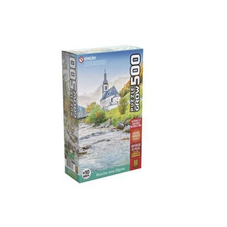 Puzzle 500 peças Riacho nos Alpes