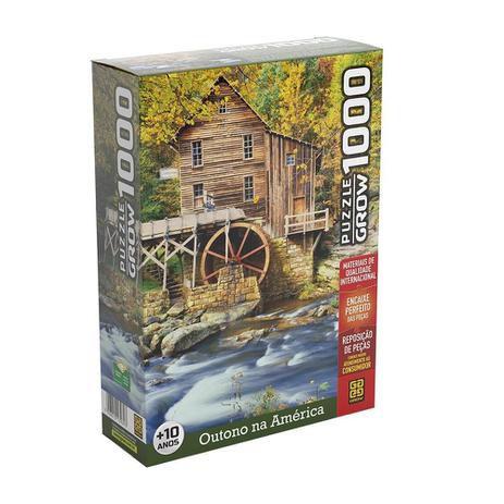 Puzzle 1000 peças Outono na América
