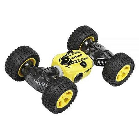Carro Controle Remoto Viper Amarelo - DM Toys