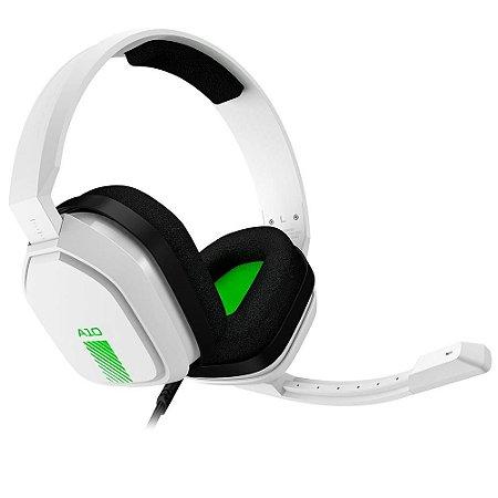 Headset ASTRO Gaming A10 para PS4, Nintendo Switch, PC e Xbox - Branco