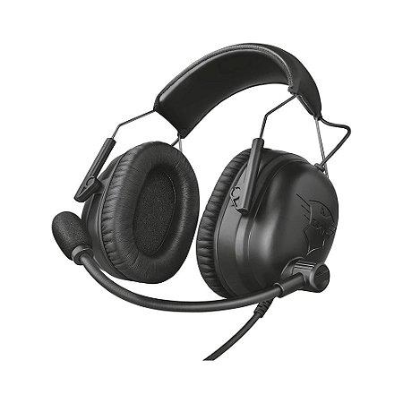 Headset Gamer Trust Wayman PRO E-Sports GXT 444 com fio