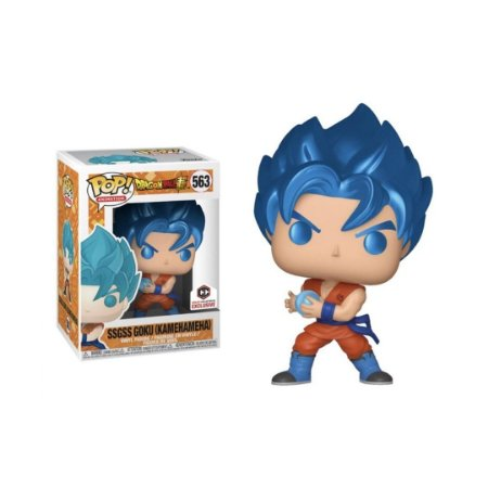 Funko Pop Dragon Ball Goku Ssgss Kamehameha *EX* 563