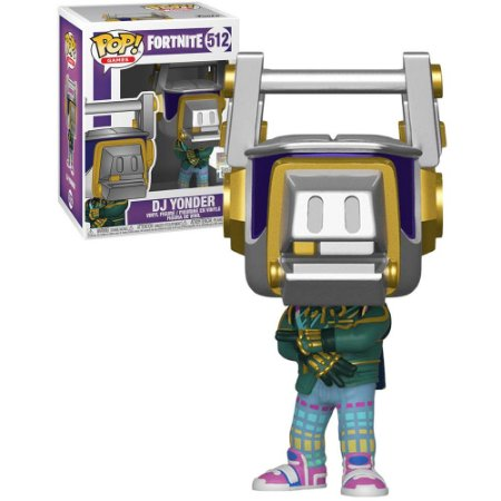 Funko Pop Fortnite 3 Dj Yonder 512