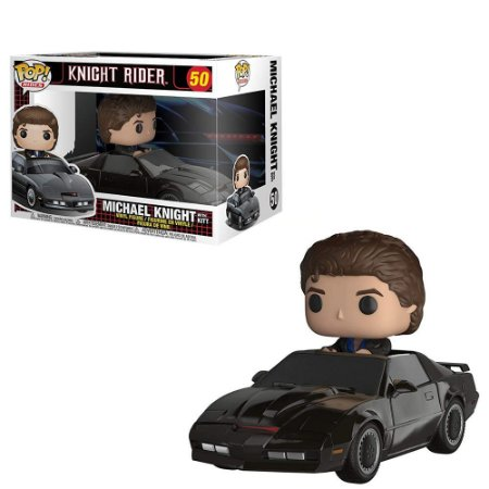 Funko Pop Knight Rider *Rides* Michael Knight 50
