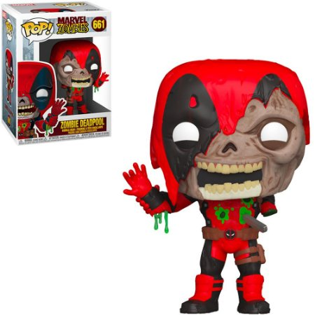Funko Pop Marvel Zombies Deadpoll 661