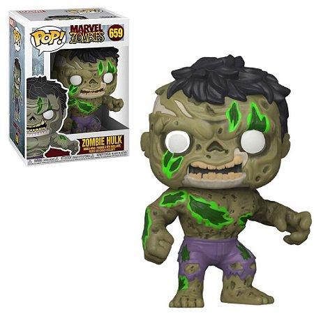 Funko Pop Marvel Zombies Hulk 659