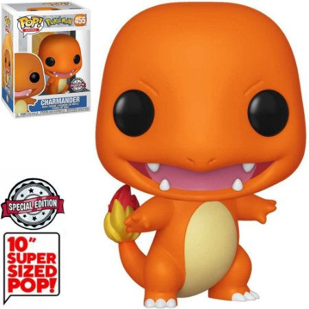 Funko Pop Pokemon *Super Sized 10* Chamander *EX* 456