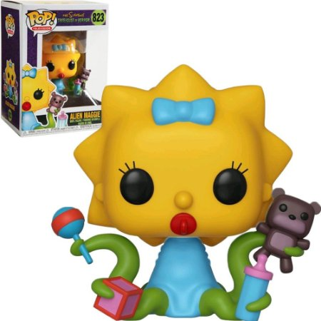 Funko Pop The Simpsons Tree House Of Horror Alien Maggie 823