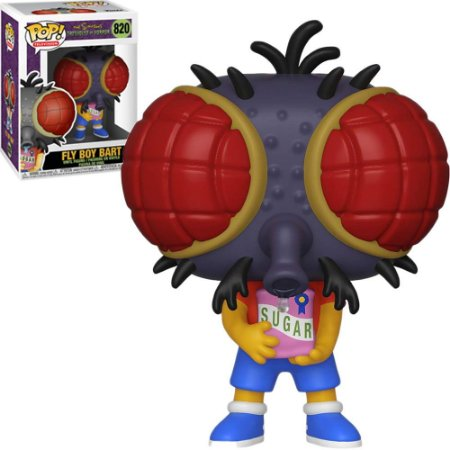Funko Pop The Simpsons Tree House Of Horror Fly Boy Bart 820