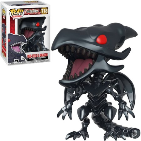 Funko Pop Yu-Gi-Oh 2 Red-Eyes B.Dragon 718