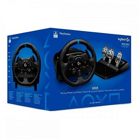 Volante Logitech Driving Force G923 - PS5/PS4 e PC MKT