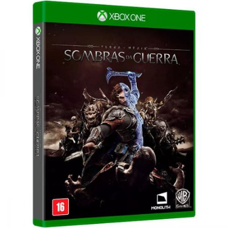 Xbox One Terra Media Sombras Da Guerra [USADO]