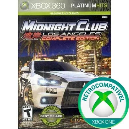 Xbox 360 Midnight Club Los Angeles Complete Edition [USADO]
