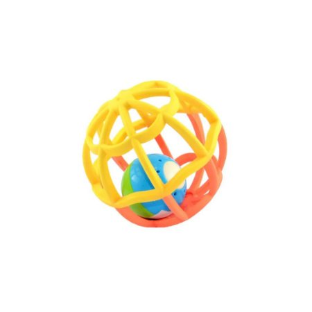 BUBA Baby Ball - Luz E Som Amarelo/Laranja