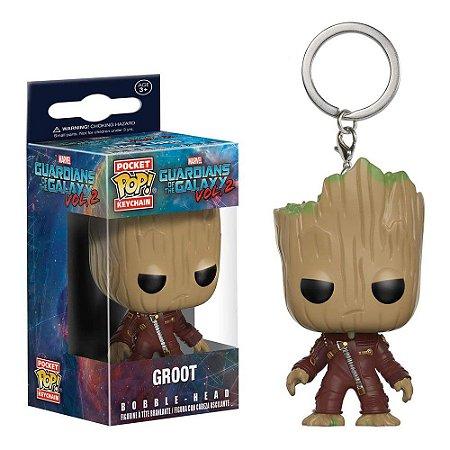 Chaveiro Funko Pop! Keychain: Guardians of the Galaxy Vol. 2 - Groot