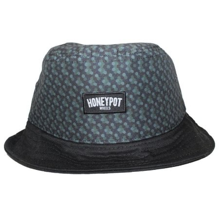 BUCKET HPW HAT BLACK PATTERN