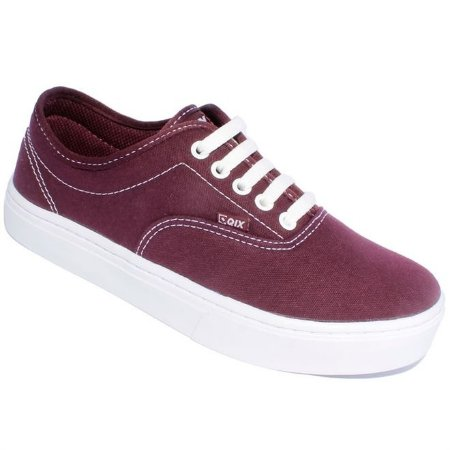 Tênis Qix Sunset Basic Bordo