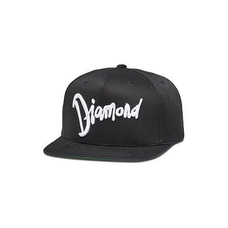 Boné Diamond World Tour Black