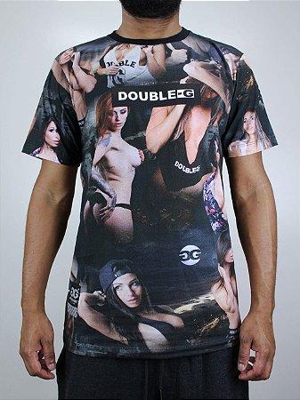 Camiseta Double G Print Girl
