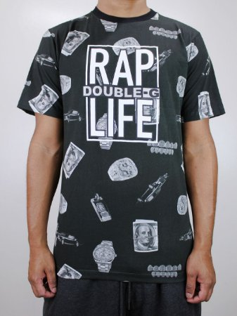 Camiseta Double G Print Money