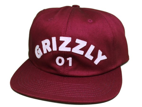 Boné Grizzly Strapback Applique