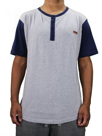 Camiseta Blaze Tunisen Cinza/Azul