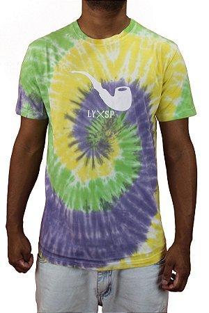 Camiseta Blaze Tie Dye Pipe Brazil