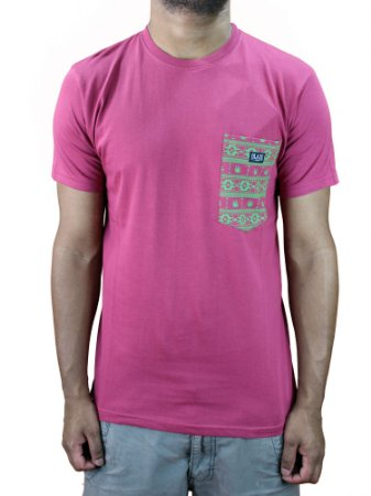 Camiseta Blaze Pocket Bordo