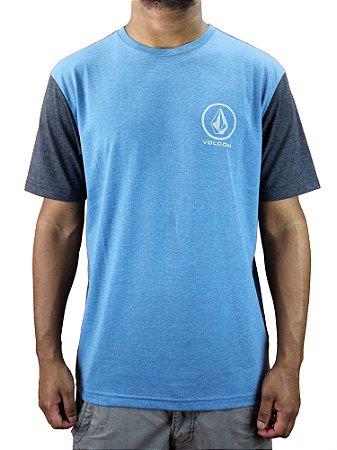 Camiseta volcom Circle Stone Mescla