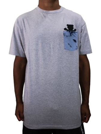 Camiseta Grizzly Eclipse Tie dye Pocket