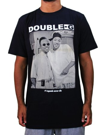 Camiseta Double-G Legends Never Die